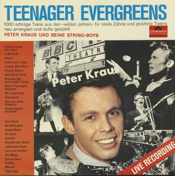 Teenager Evergreens (LP)