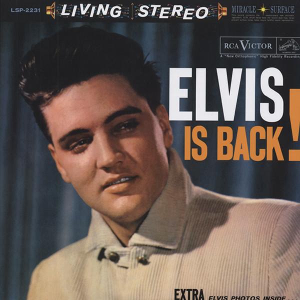 Elvis Is Back (2x180g HQ-Vinyl LP 45RPM)
