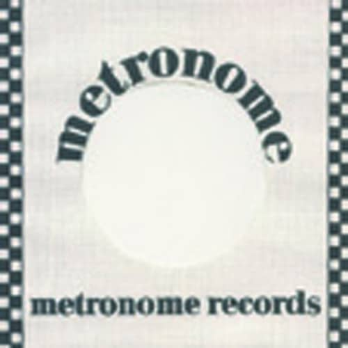 (10) Metronome - 45rpm record sleeve - 7inch Single Cover