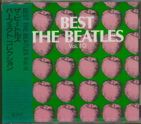 Best - The Beatles, Vol.10 (CD, Japan)