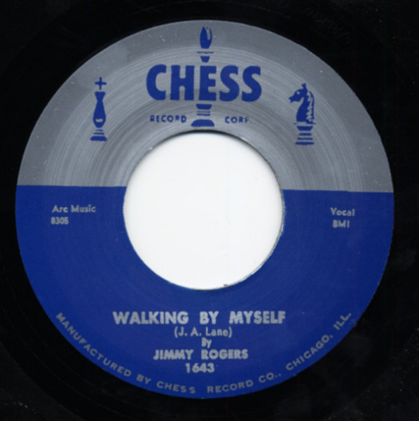 Walking By Myself - If It Ain't Me 7inch, 45rpm