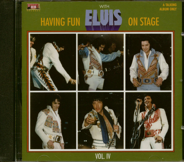 Having Fun With Elvis On Stage Vol.4 (CD)