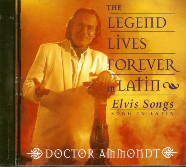 Elvis Songs Sung In Latin (CD)