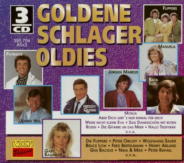 Goldene Schlager Oldies (3-CD)