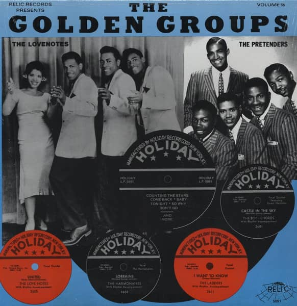 The Golden Groups Vol.55 - Holiday Records (LP)