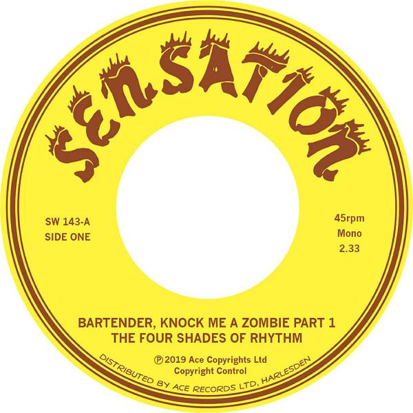 Bartender, Knock Me A Zombie Part 1+2 (7inch, 45rpm)