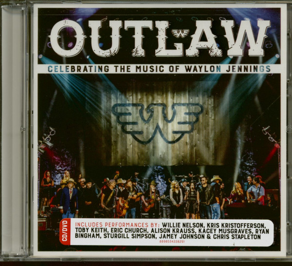 Outlaw: Celebrating The Music Of Waylon Jennings (CD+DVD)