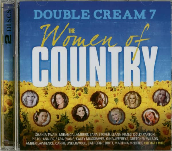 Double Cream, Vol.7 - The Women Of Country 2-CD