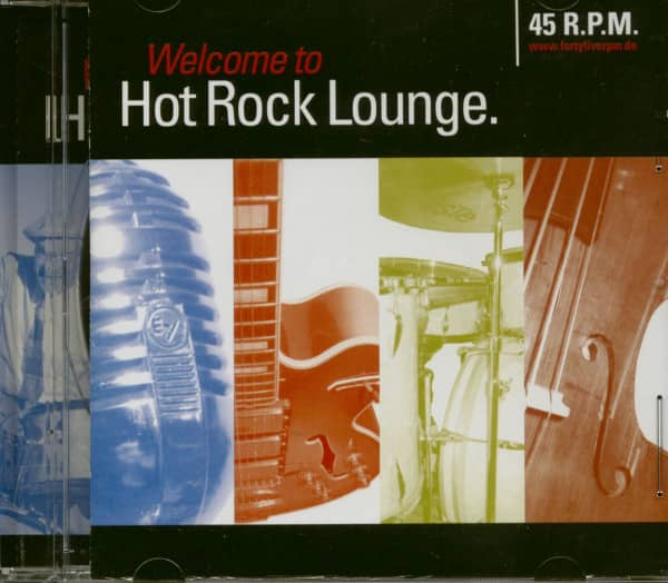 Hot Rock Lounge (CD)