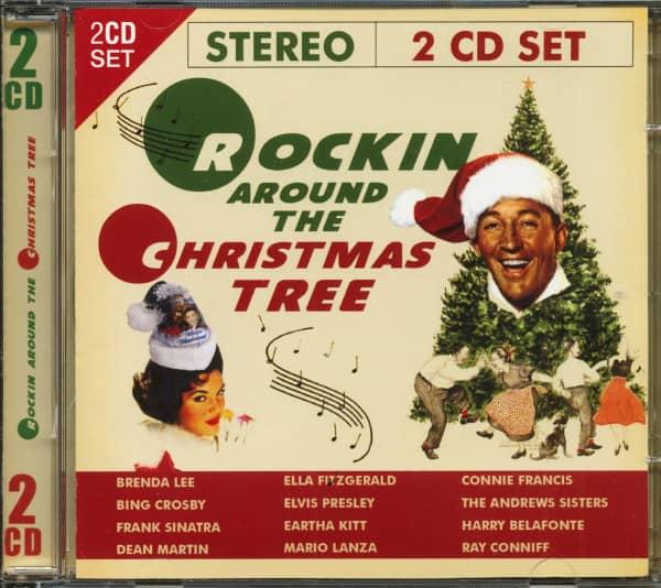 Rock Christmas Music.Various Cd Rockin Around The Christmas Tree 2 Cd Bear