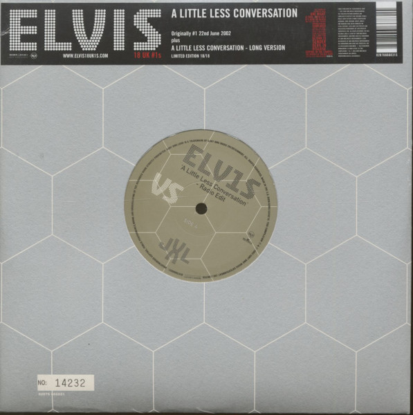 18 UK #1s Vol.18 - A Little Less Conversation (10inch, 45rpm, Ltd., Numbered)