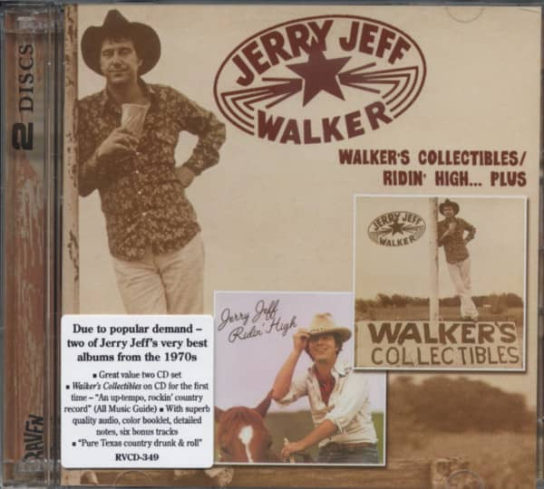 Walker's Collectibles - Ridin' High...plus 2-CD
