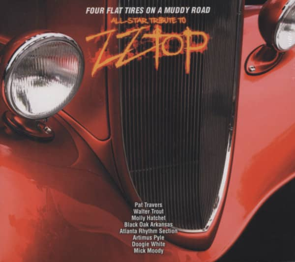 Four Flat Tires On A Muddy Road - ZZ Top Tr.