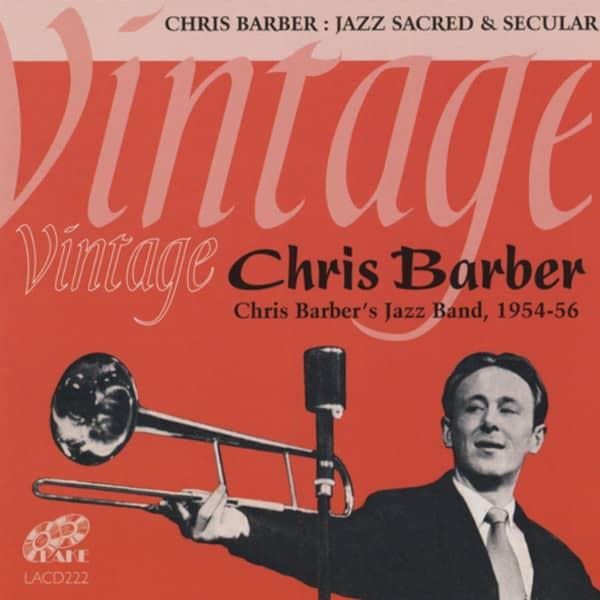 Chris Barber, 1954-56