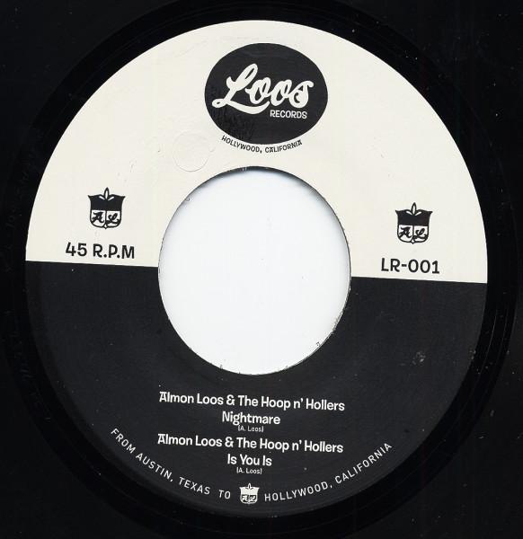 Almon Loos & The Hoop'n'Hollers 7inch, 45rpm, EP