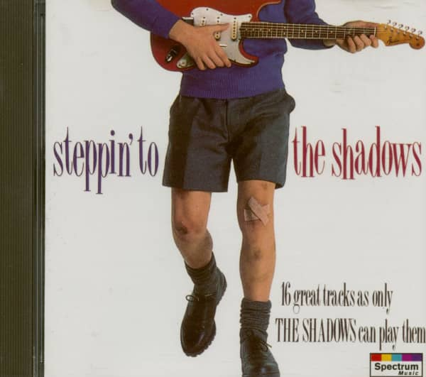 Steppin' To The Shadows (CD)