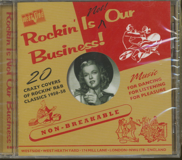 Rockin' Is Not Our Business 1950-58 (CD)