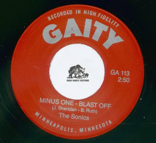 Minus One, Blast Off - Marlene (7inch, 45rpm)