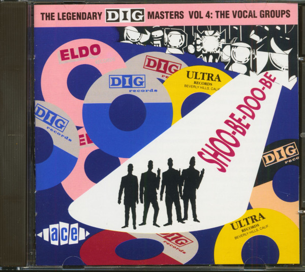 The Legendary Dig Masters Vol.4 - The Vocal Groups (CD)