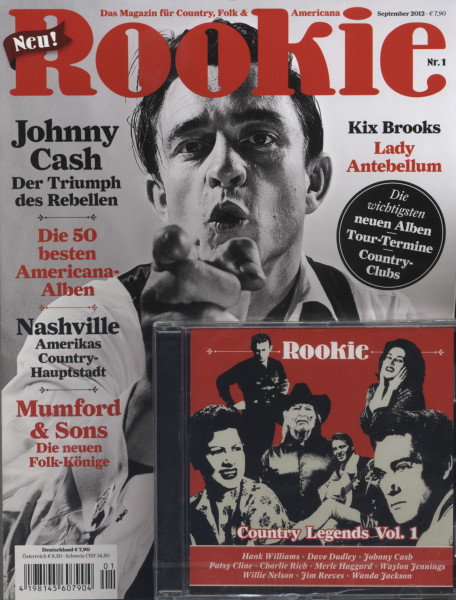 Rookie - Magazin für Country, Folk & Americana (&CD)