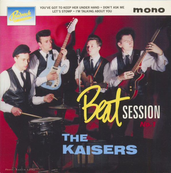 Beat Session No.1 (7inch, EP, PS)