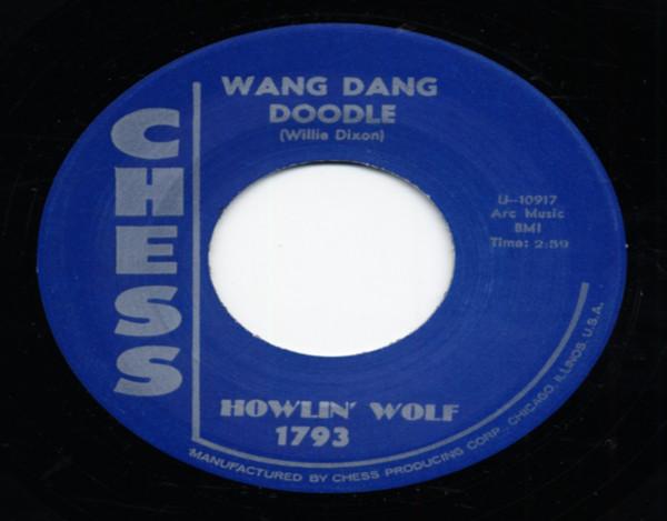 Down In The Bottom b-w Wang Dang Doodle 7inch, 45rpm