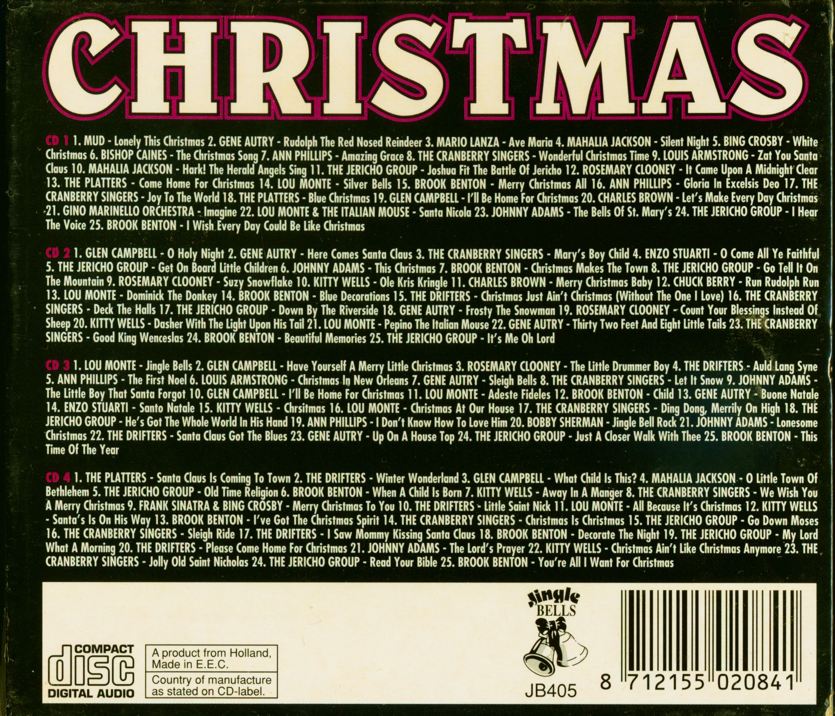 Ultimate Christmas Collection: Various CD: The Ultimate Christmas Collection (4-CD