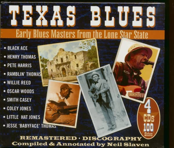 Texas Blues (4-CD)