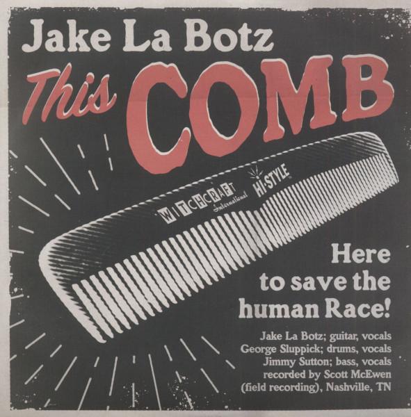 This Comb - Shaken & Taken (7inch, 45rpm, PS)