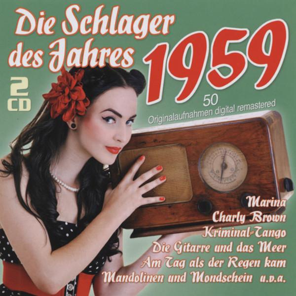1959 - Die Schlager des Jahres (2-CD)