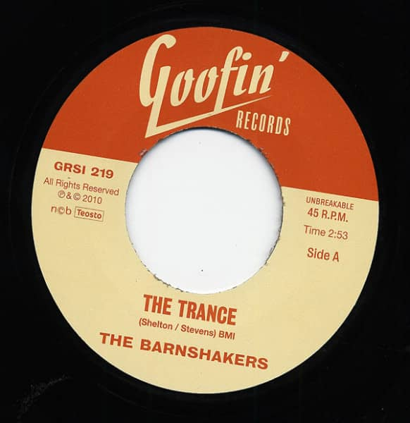 The Trance - Let Me Tell You About 7inch, 45rpm