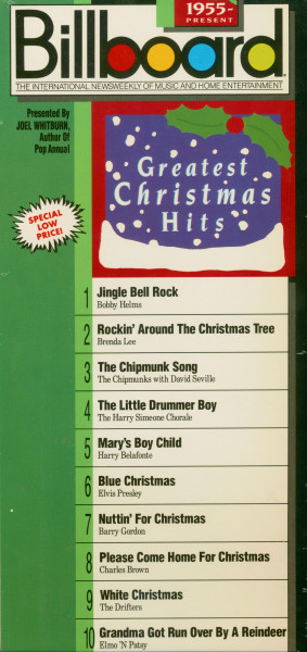 Billboard Greatest Christmas Hits 1955-83 (CD Longbox)