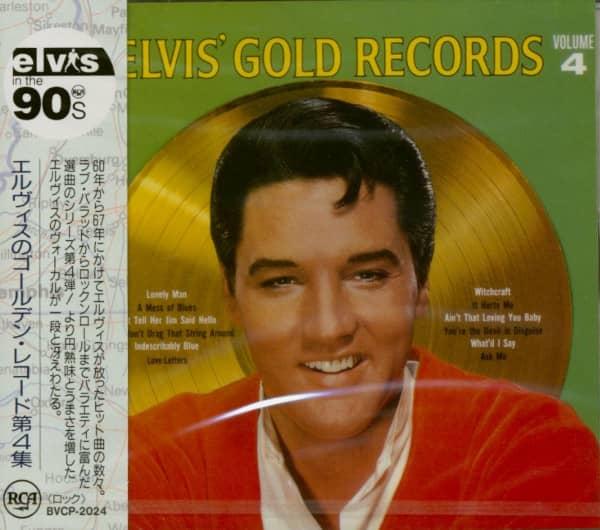 Elvis' Gold Records, Vol.4 (CD, Japan)