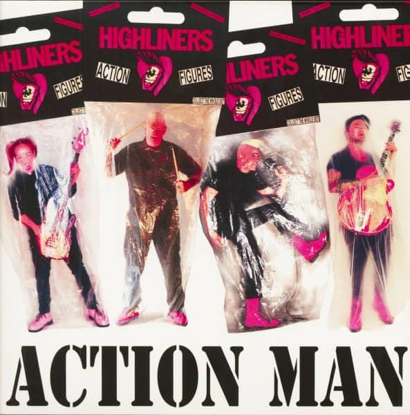 Action Man (LP, Green Vinyl, Ltd.)
