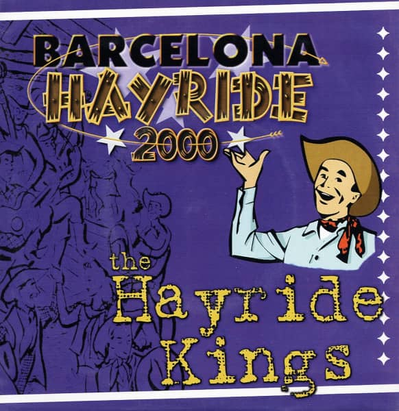 Barcelona Hayride 7inch, 45rpm, EP