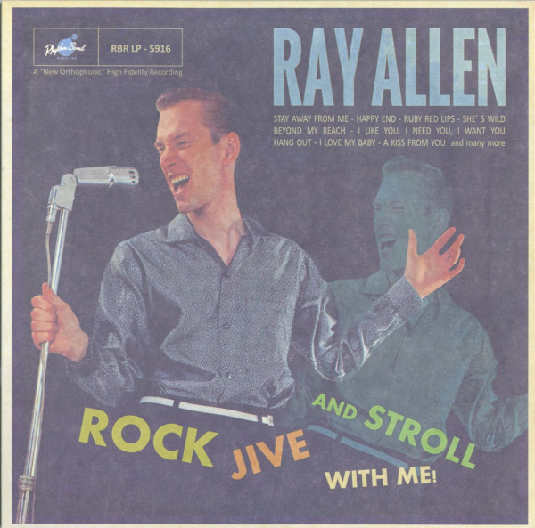 Rock, Jive And Stroll With Me (LP)
