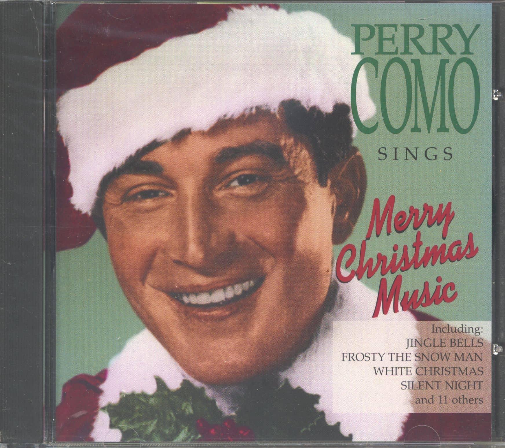 Perry Como CD: Perry Como Sings Merry Christmas Music (CD) - Bear Family Records