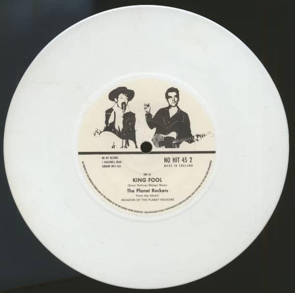 King Fool - Snap Jack (7inch, 45rpm, SC, White Vinyl)