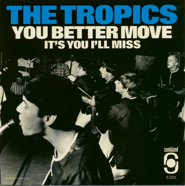 You Better Move b-w It's You I'll Miss (7inch, 45rpm, PS, red wax)