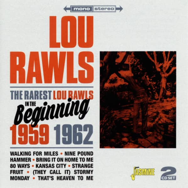 The Rarest Lou Rawls In The Beginning 1959, 1962 (2-CD)