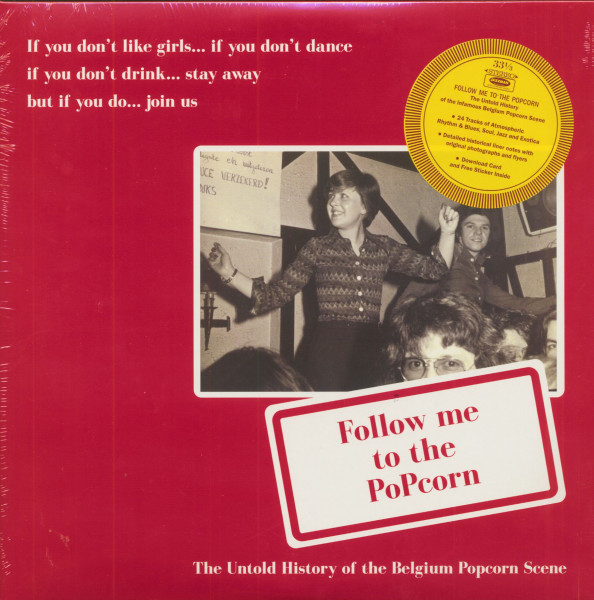 Follow Me To The Popcorn (2-LP & Download Card)
