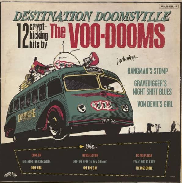 Destination Doomsville - 12 Crypt-Kicking Hits (LP)