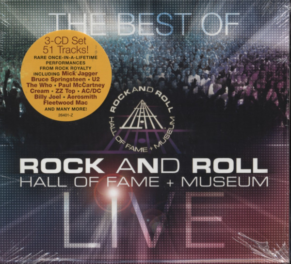 R&R Hall Of Fame & Museum - Best (3-CD)