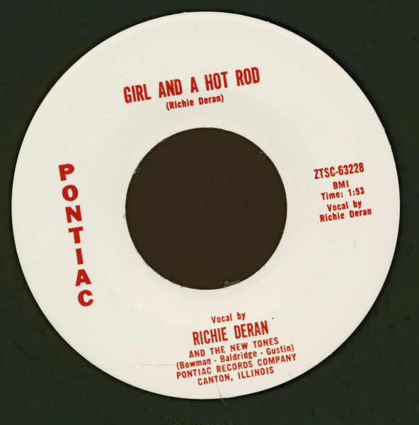 Girl And A Hot Rod - Little Willie (7inch, 45rpm)