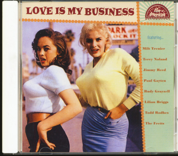 Love Is My Business (CD)