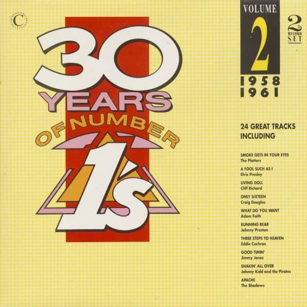 30 Years Of Number 1's, Vol.2, 1958-1961 (2-LP)