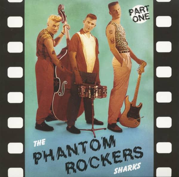 The Phantom Rockers Part One (LP, 10inch, Colored Vinyl)