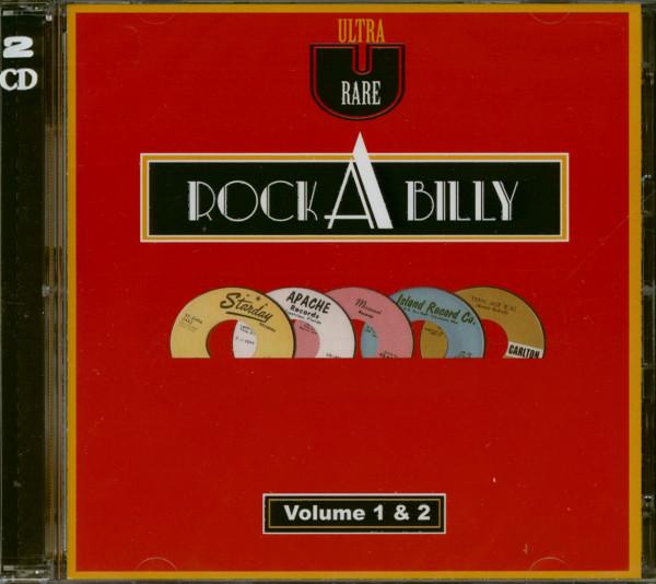 Ultra Rare Rockabilly Vol.1 & Vol.2 (2-CD)