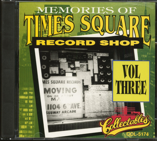 Memories Of Times Square Record Shop Vol.3 (CD)