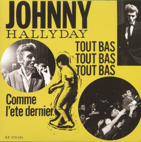 Johnny Hallyday (7inch, EP, 45rpm, PS, SC, Yellow Vinyl, Ltd.)